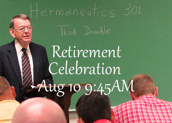 Join us in celebrating our beloved Dr. Dowdle!