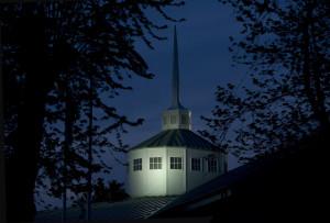 chapel spire night web