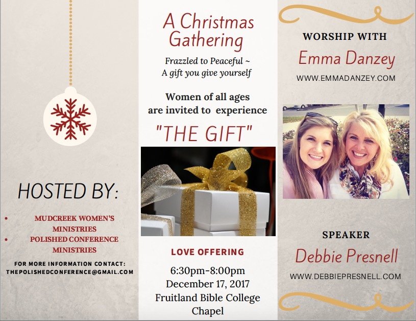 The Gift: Mudcreek Women's Ministry Christmas Gathering