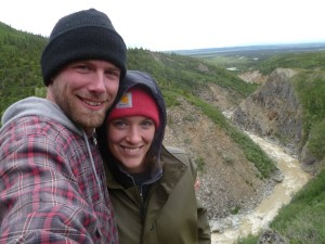 Laura and Nate always looking for neat places outdoors