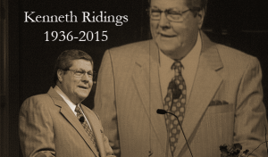 Kenneth Ridings 1936-2015