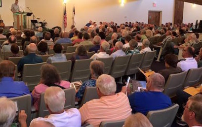 Fruitland welcomes the NC Baptist Region 9 Men's Mission Rally